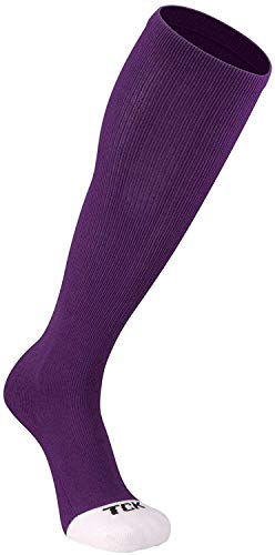 TCK Prosport Performance Tube Socks (Purple, Medium)