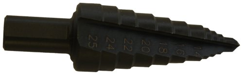DEWALT DW1794 14-Millimeter to 25-Millimeter 1/2-Inch Shank Hole Enlarging Step Drill Bit