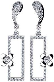Dar Platinum Plated Clips Earring For Women (Dar0000264)