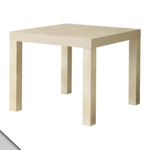 Ikea Table End Side Birch Color (2 Pack) Lack
