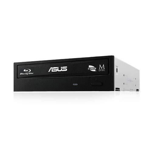 mejores Grabadores de Blu-ray ASUS BW-16D1HT 16X - Grabadora de BLU-Ray, Compatible con M-Disc, encriptación de Disco, Almacenamiento Web Ilimitado (12 Meses), Nero Backitup, E-Green, E-Media