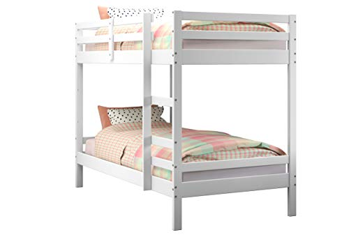 Donco Kids Bellaire Bunk Bed, Twin/Twin, White