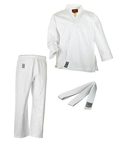 Ju-Sports Karate Anzug Bonsai mit Weißgurt, 9311, Gr. 150