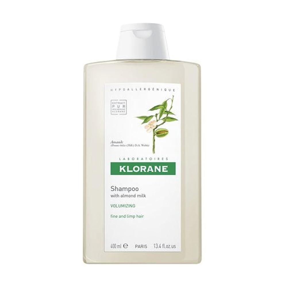 免除地球無線Klorane Almond Milk Shampoo 400ml [並行輸入品]