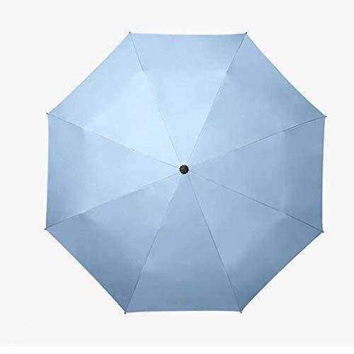 ASDMRQ paraguas, hombres y mujeres a prueba de viento automático plegable paraguas, paraguas de negocios de gama alta, paraguas de diseño simple