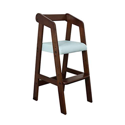 Chaise de Salle à Manger Portable multifonctionnelle en Bois pour Chaise Haute, Structure Ultra-Stable et Facile à Nettoyer