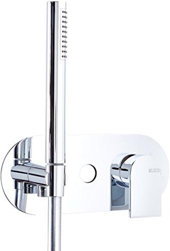 Bellosta 01–4800/1/P/und Teile Außen Mischbatterie Badewanne/Dusche Jeans, Chrom