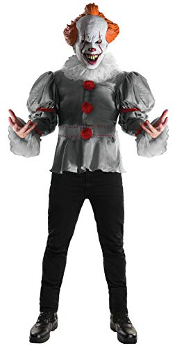 Rubie's Stephen King - Costume da Clown Pennywise Deluxe, per Adulti, Taglia Unica 820859