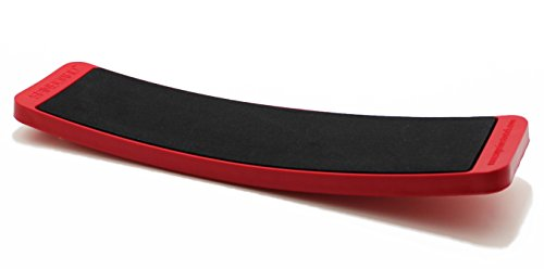 Superior Stretch Products SPINBOARD - Ice Skating Spinner - Improves Ice Skating Spins  (Red)