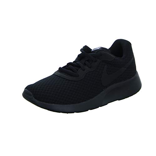 Nike Tanjun, Zapatillas de Running para Mujer, Negro (Black/Black-White 002), 36 EU