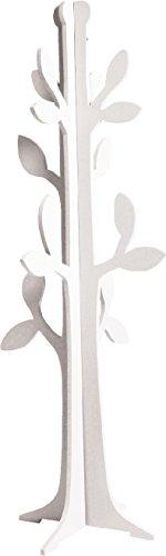 Poyetmotte charme appendiabiti Tree, 45x 120cm, bianco