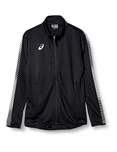[アシックス] トレーニングウエア トレーニングジャケット(スリム) 2031A778 [メンズ] パフォーマンスブラック×ブリリアントホワイト 日本 2XL (日本サイズ3L相当)