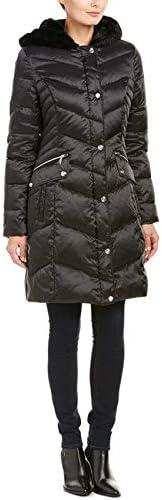 LAUNDRY BY SHELLI SEGAL Faux-Fur-Trim Down Coat