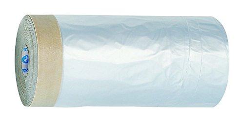 STORCH CQ Folie mit Papier-Klebeband Maskerband Masker Tape Breite 30cm x 33m