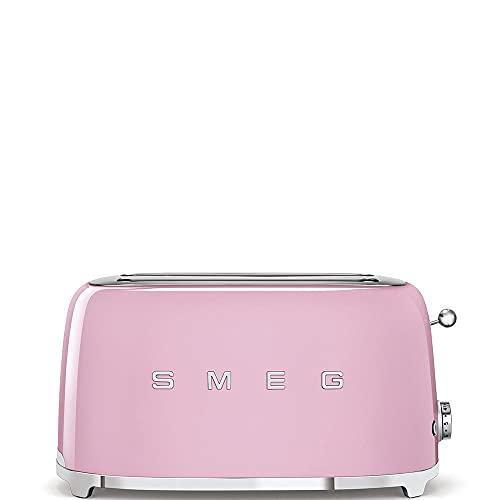 Smeg Toaster TSF02PKEU pastellrosa, 1500, Stahl