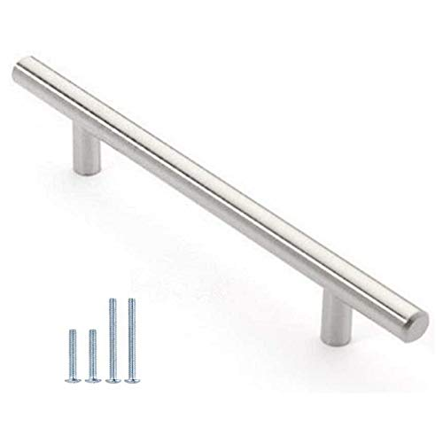 "30 Pack 12mm Stainless Steel Kitchen Cabinet Handles T Bar Pull (8"" Overall Length,5"" Hole Centers) Arkansas"