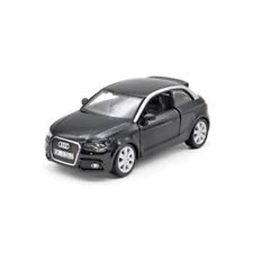 Bburago–Audi A1Spielzeug-Auto, Schwarz (18–22127bk)