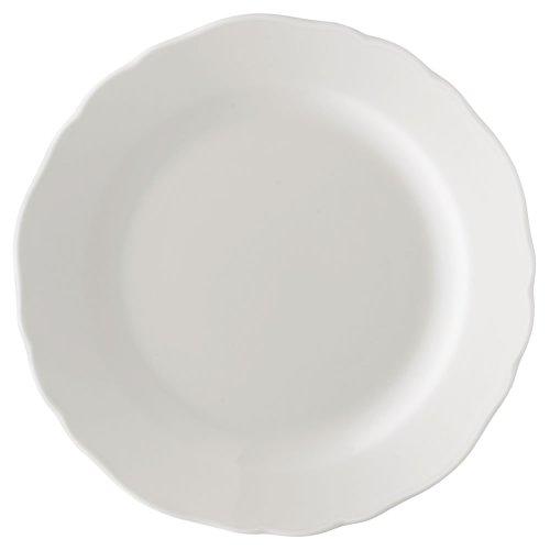 Hutschenreuther 02013-800001-10019 Maria Theresia Frühstücksteller 19 cm mit Fahne, weiß