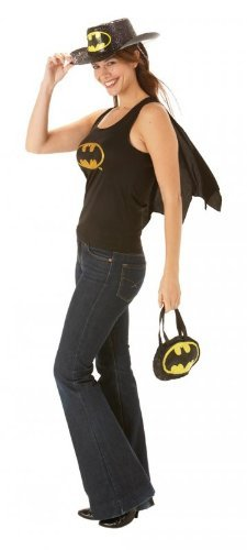 Rubies Costume Carnevale Halloween Top e Mantellina Batgirl di Batman film - sexy donna Small