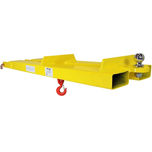 Titan Pallet Fork Forklift Mobile Crane Lifting Hoist Jib Boom Lifting Hook Receiver Ball for Towing