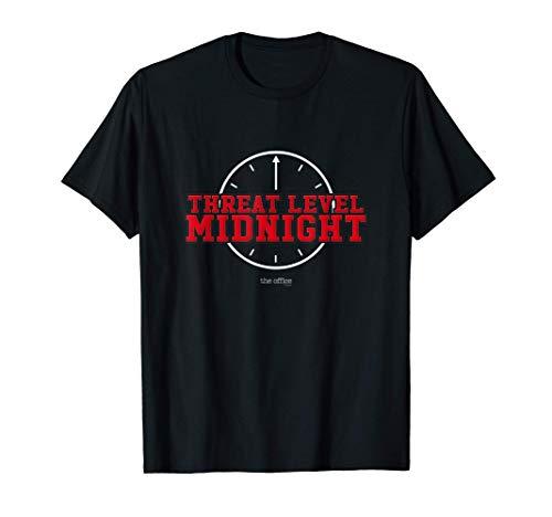 The Office Threat Level Midnight Michael Scott T-Shirt T-Shirt