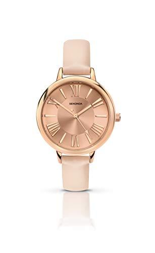 Sekonda Women's Analogue Quartz Watch with PU Strap 2355.27