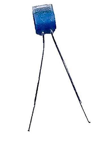 iOVEO 401PT00100 - PT100 Temperatursensor, 5 Stück/Sensor Messfühler Fühler Platin Chip, DIN EN 60751, bis 550°C