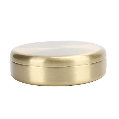 Pot d'huile de montre, pot de lavage d'huile de montre en cuivre portable, pot d'entretien de mouvement de montre, adapté au nettoyage de petites pièces ou à l'élimination de l'excès de graisse sur le