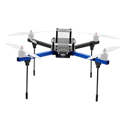 zmigrapddn Kit Telaio aeronautico F450 in Alluminio Leggero da 450 mm per quadricottero Drone FPV, Supporto eliche da 11 12 Pollici, Accessori di Ricambio RC