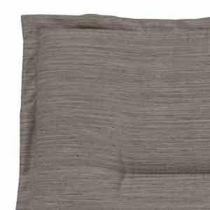 H.G. 4517314 Rialto Housse pour Tabouret 75 % Polyester 25 % Coton 48 x 48 x 4 cm