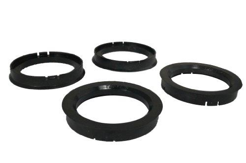 4 Zentrierringe 76,0 mm - 60,1 mm