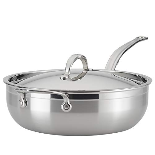 Hestan - ProBond Collection - Professional Clad Stainless Steel - All-In-One Pan, 5 Quart