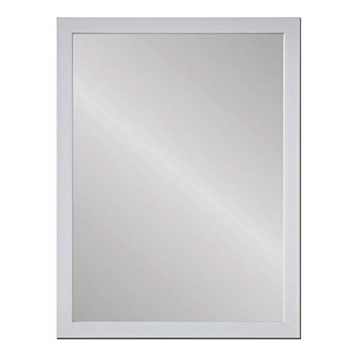 Espejo de Pared nórdico Blanco de plástico de 56x76 cm - LOLAhome