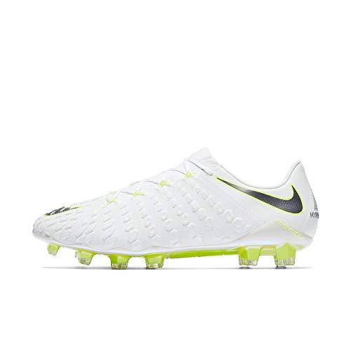 Nike Phantom 3 Elite Fg - white/mtlc cool grey-volt-mtlc, Größe:7