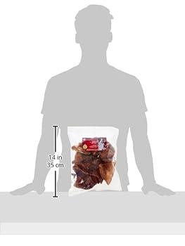 AIME Oreille de Porc pour Chien, X12, Sans conservateur ni colorant, Friandise à mâcher 100% naturelle
