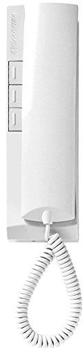 Farfisa EX311 Haustelefon 1+n Verkabelung mit elektronischen Ruf und 3 Tasten, weiß