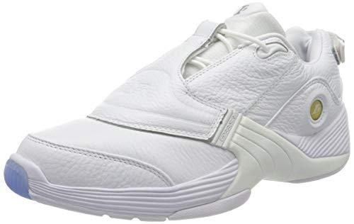 Reebok Answer V Low, Zapatillas de Deporte Unisex-Adulto, Blanco, 44.5 EU
