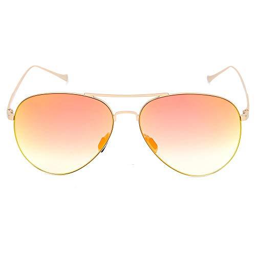 TYXL Sunglasses Gafas De Sol Naranjas Moda Gafas De Sol for Hombres Y Mujeres