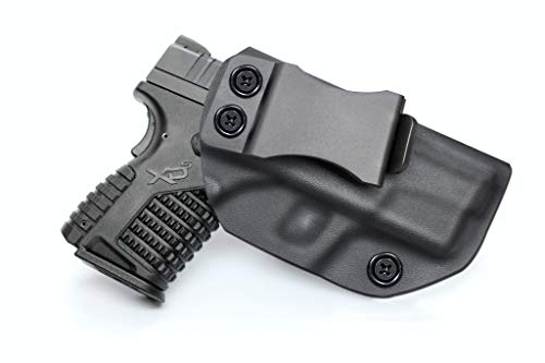 IWB KYDEX Holster, Fit Springfield XD-S 3.3' 9mm/.40S&W/.45ACP, Inside...