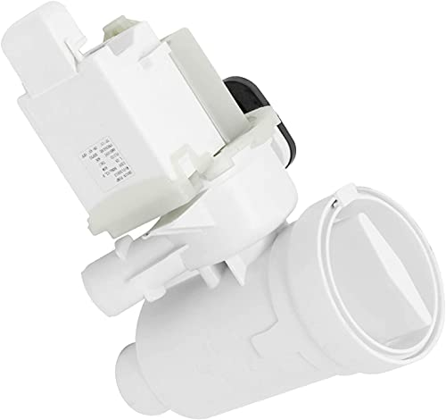 W10130913 Washer Drain Pump for Whirlpool by PartsBroz - Replaces Part Numbers WPW10730972, AP6023956, W10130913, W10730972, 8540024, PS11757304, W10117829, W10183434, W10190647