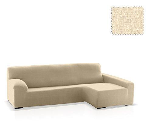 JM Textil Funda de sofá Chaise Longue Bastet, Brazo Derecho, tamaño estándar (220-280 Cm.), Color 00