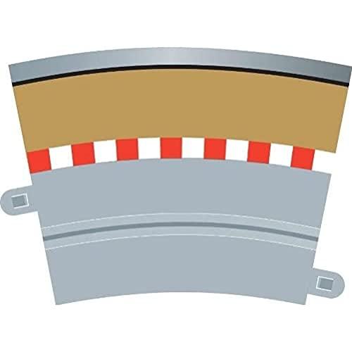 Hornby France - C7019 - Scalextric - Voiture - Bordure de rail courbe