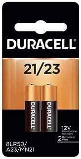 Duracell(R) 12-Volt Alkaline Security Batteries, 21/23, Pack Of 2