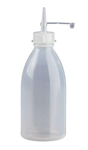 3 x 250ml Spritzflasche rund natur aus LDPE inkl. Tropferverschluss mit Halteband und Kappe (Spritzverschluss) *** Spritzflaschen, Laborflasche, Enghals, Dosierflasche, Dosierflaschen, Spritzerflasche, Plastikflasche, Tropferflasche, Plastikflaschen, Tropferflaschen, Spritzerflaschen, Laborflaschen, Enghalsflaschen ***