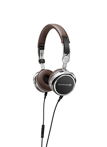 beyerdynamic Aventho wired On-Ear-Kopfhörer in braun. Geschlossene Bauweise, kabelgebunden, High-End