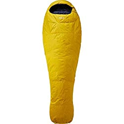 RAB Ignition 1 Sleeping Bag - Dark Sulphur Left Zip
