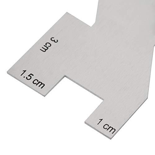 Hztyyier Accesorios de Costura Reglas, Medidor de medición de Costura Regla de Acolchado Acolchado Manual Accesorio de Costura para Costura DIY Acolchado Accesorios para Manualidades Artesanía