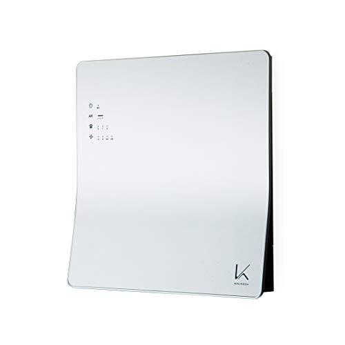ターンド・ケイ 光触媒除菌・脱臭機 壁掛けタイプ KL-W01 322086 ホワイト