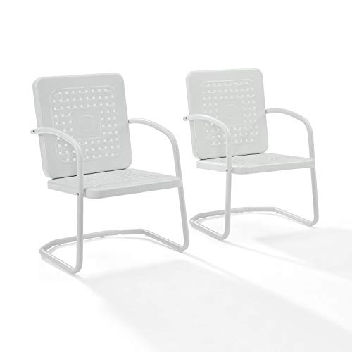 Crosley Furniture Bates Patio Chair in White (1 chair only )