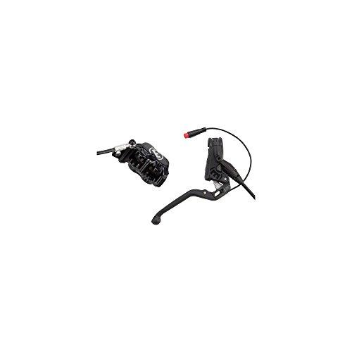 Magura MT5e Scheibenbremse VR/HR Ausführung Schalter: HIGO-Schliesser Fahrradbremse, schwarz, One Size